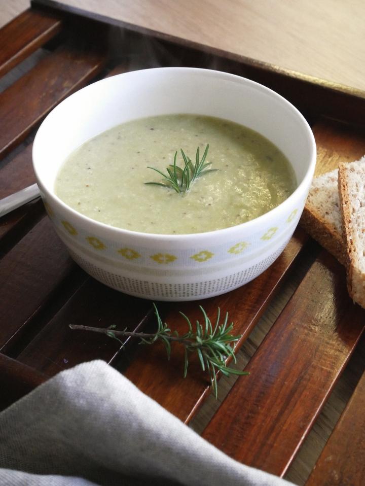 mustard & thyme leeksoup