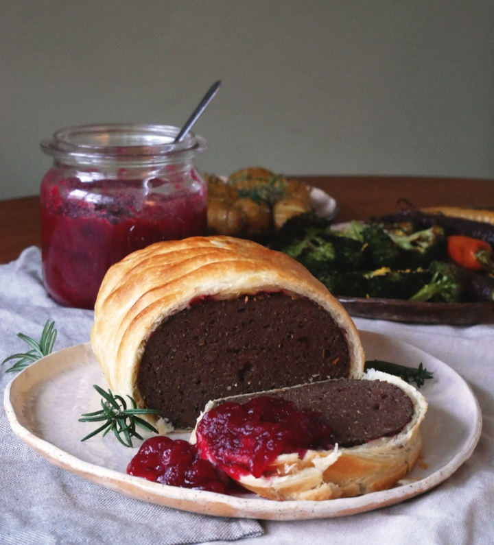 vegan christmas wellington